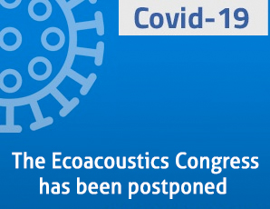 The Ecoacoustics congress has been postponed due to COVID-19